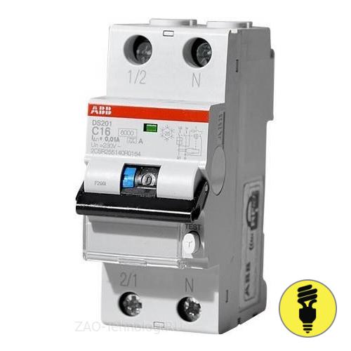 Дифференциальный автомат АВВ DS201 C20A