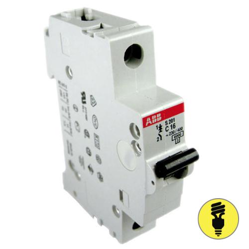 Автоматический выключатель ABB S201 - 16A
