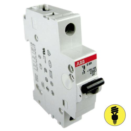 Автоматический выключатель ABB S201 - 6A