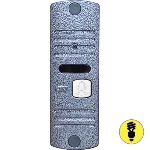 Вызывная панель для видеодомофона CTV-D10NG (серебро)