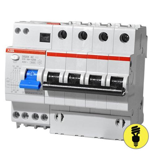 Дифференциальный автомат АВВ DS204 C10