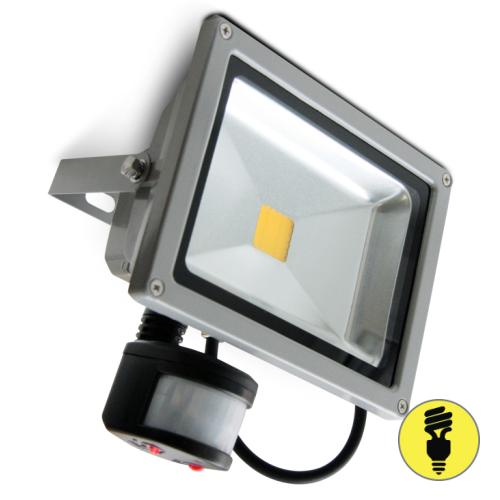 Светодиодный прожектор с датчиком движения 20 Вт, 6500к, IP65