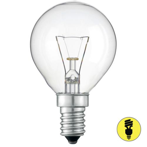 Лампа накаливания Е14 40 Вт шар