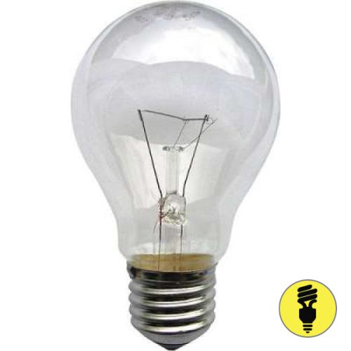 Лампа накаливания (ЛОН) термоизлучатель Е27 150 Вт различного назначения
