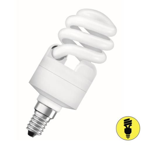 Лампа энергосберегающая Е14 15 Вт 2700К