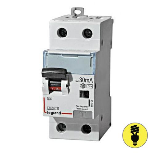 Дифференциальный автомат Legrand DX3 6А 2P 410999