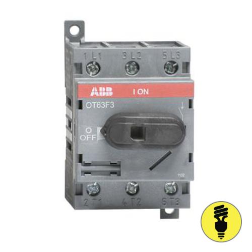 Выключатель нагрузки АВВ OT63F3 63А