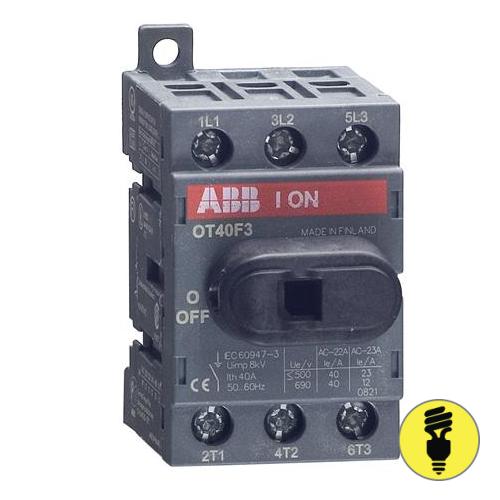 Выключатель нагрузки АВВ OT40F3 40А