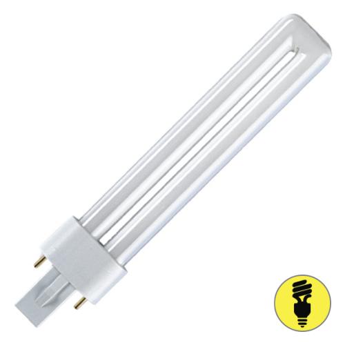 Лампа люминесцентная Osram G23 11 Вт/827