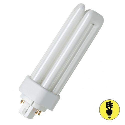Лампа люминесцентная Osram G24D-2 18 Вт/840
