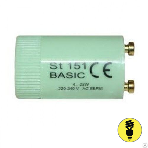 Стартер Osram ST-151 4-22 Вт для люминесцентной лампы