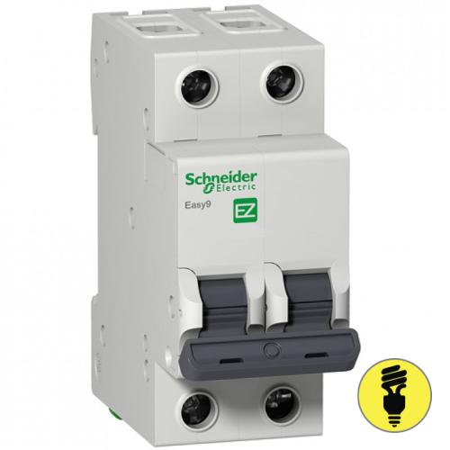 Автоматический выключатель Schneider Electric 2P 63А