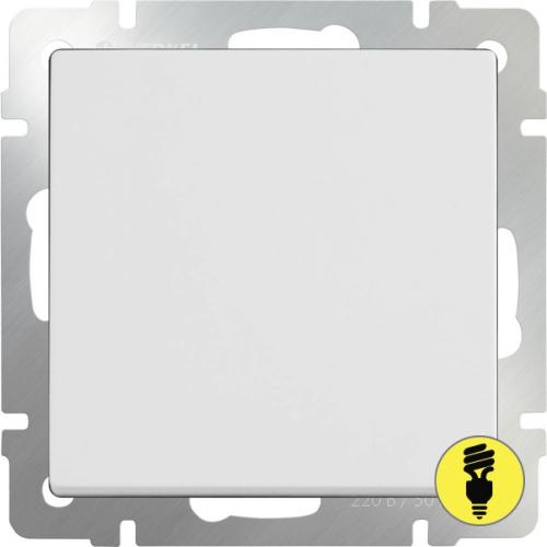 WL01-SW-1G-C / Выключатель перекрестный 1-клавишный Werkel, Белый