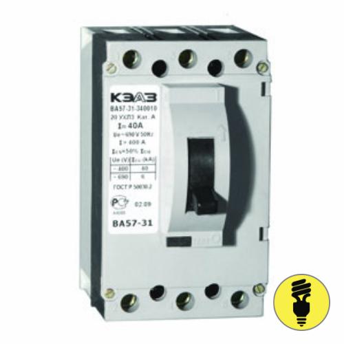 Автоматический выключатель ВА 57-31-340010 40А