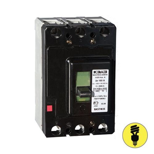 Автоматический выключатель ВА 57Ф35-340010 100А