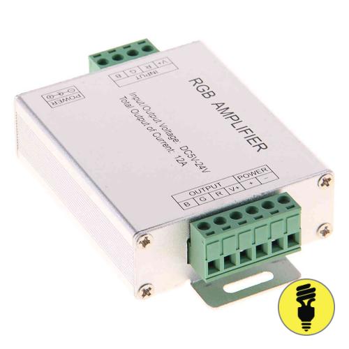 Усилитель для светодиодной ленты RGB, 3 канала, 18 А, (216W/432W(12V/24V))