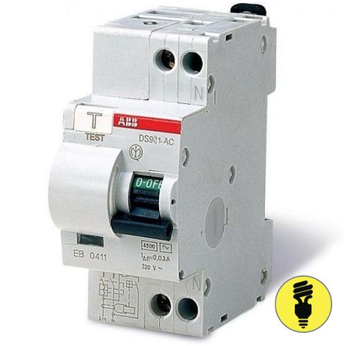 Дифференциальный автомат ABB DS 901 C10