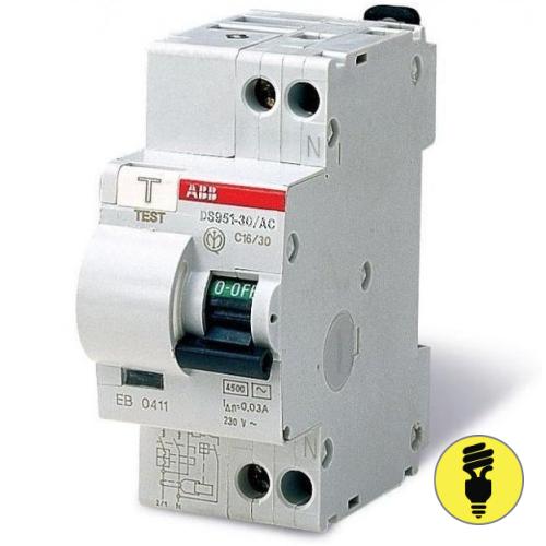 Дифференциальный автомат ABB DS 951 C20
