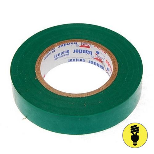 Изолента ПВХ Neomatec зеленая