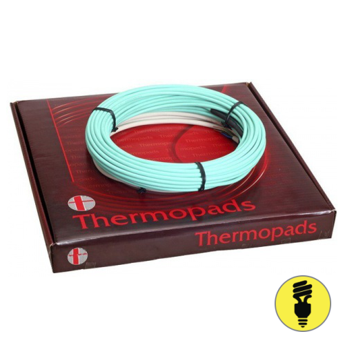 Нагревательный кабель Thermopads FHCТ 350Вт 2,1-3,2м2