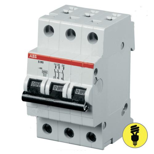 Автоматический выключатель ABB S203 - C 6A