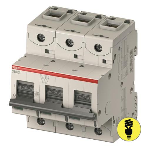 Автоматический выключатель ABB S803C - C 100A