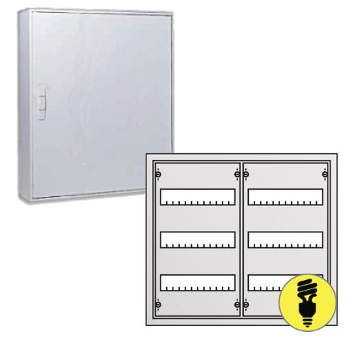 Металлический распределительный щит ABB AT32 настенного монтажа