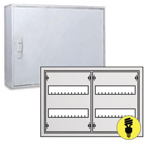 Металлический распределительный щит ABB AT22E настенного монтажа