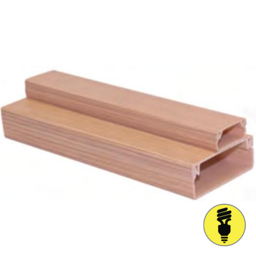 Кабель-канал T-Plast 20х10 текстура дерева, сосна