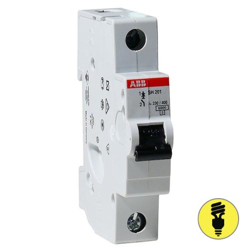 Автоматический выключатель ABB SH201 C 20