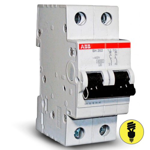 Автоматический выключатель ABB SH202 C 6