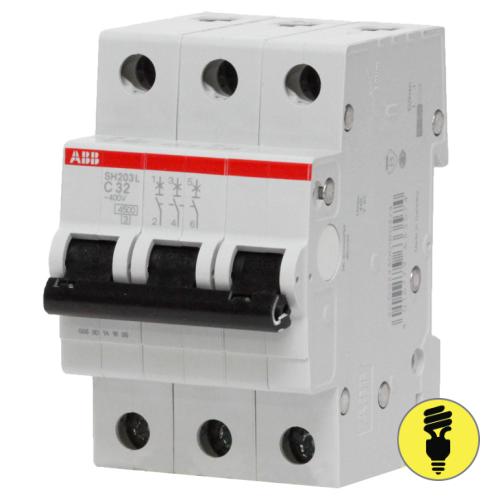 Автоматический выключатель ABB SH203 C 16