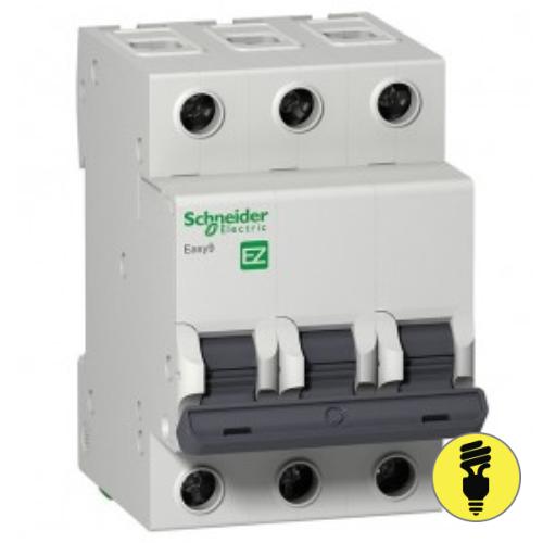 Автоматический выключатель Schneider Electric 3P 25А