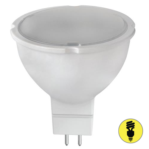 Светодиодная лампа LBT LED GU5.3 MR16 7Вт 6400К