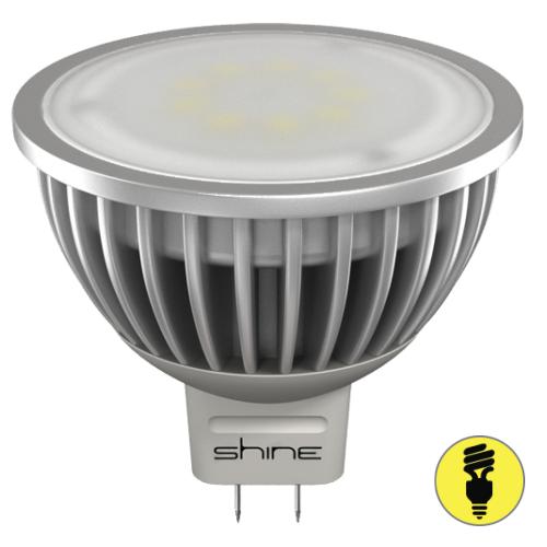 Светодиодная лампа Shine GU5.3 MR16 6Вт 3000К