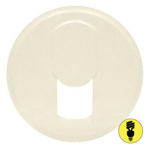 Лицевая панель для RJ11 Legrand Celiane слоновая кость, 66230