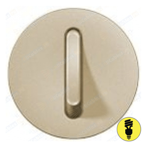 Лицевая панель для выключателя бесшумного Legrand Celiane слоновая кость, 66206