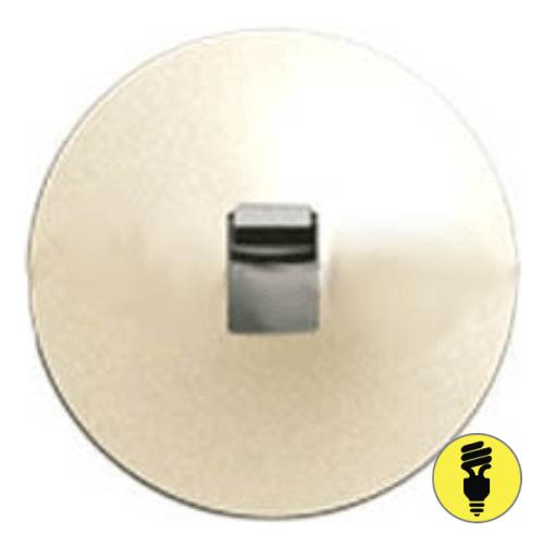 Лицевая панель для выключателя рычажкового Legrand Celiane слоновая кость, 66204
