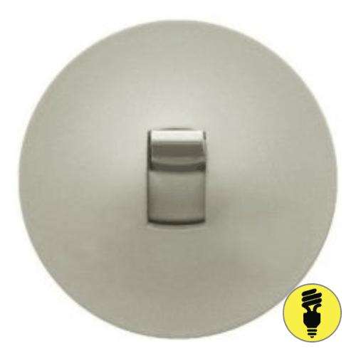 Лицевая панель для выключателя рычажкового Legrand Celiane титан, 68316