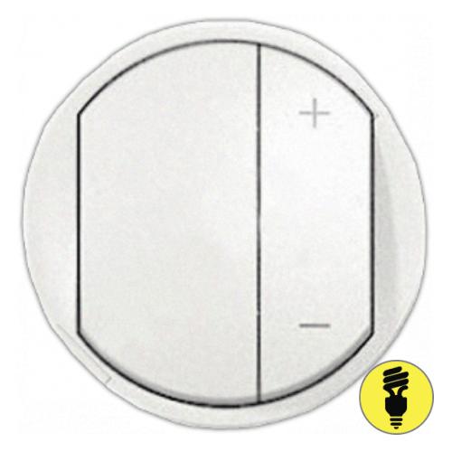 Лицевая панель для светорегулятора Legrand Celiane белая, 68031