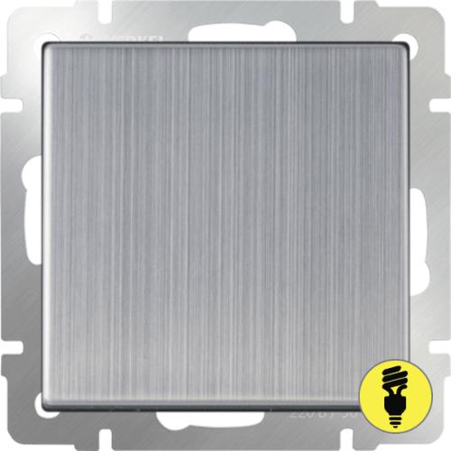 WL02-SW-1G / Выключатель 1-клавишный Werkel, Глянцевый никель