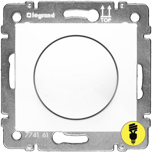 Димер Legrand Valena поворотный 400 Вт (белый) 770061