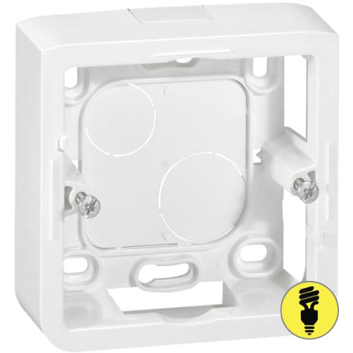 Коробка для накладного монтажа Legrand 100х100х36 мм 55894