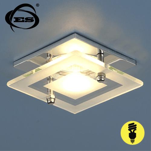 Точечный светильник Elektrostandard 781 MR16 CH/CL хром/прозрачный