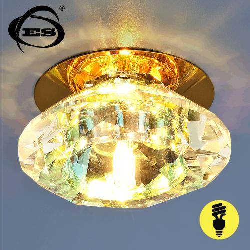 Точечный светильник Elektrostandard 8016 G4 GD/Сolor золото/перламутр