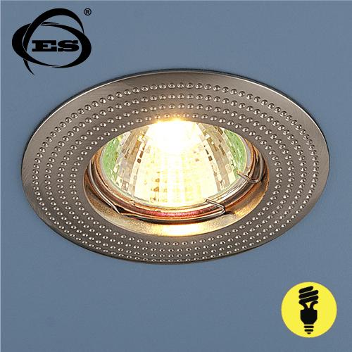 Точечный светильник Elektrostandard 601 MR16 SN сатин никель