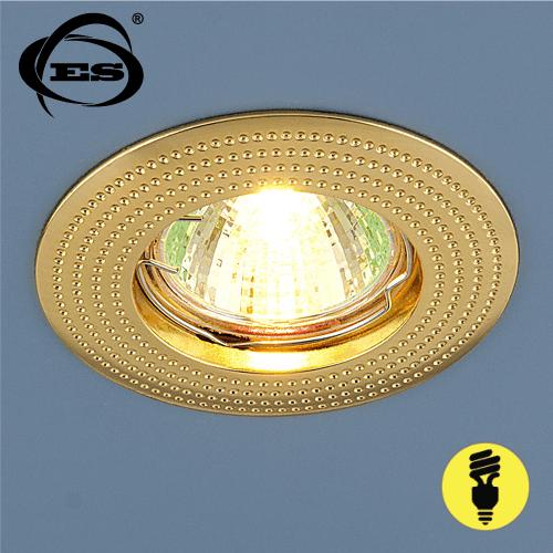 Точечный светильник Elektrostandard 601 MR16 GD золото