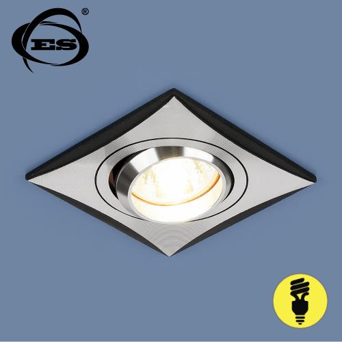 Точечный светильник Elektrostandard 5108 MR16 CH/BK хром/черный