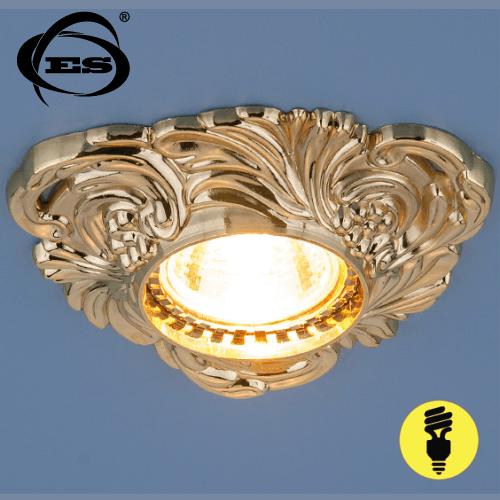 Точечный светильник Elektrostandard 4105 MR16 GD золото