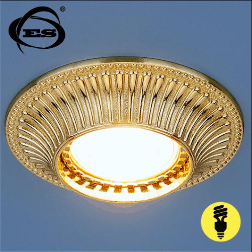 Точечный светильник Elektrostandard 4101 MR16 GD золото